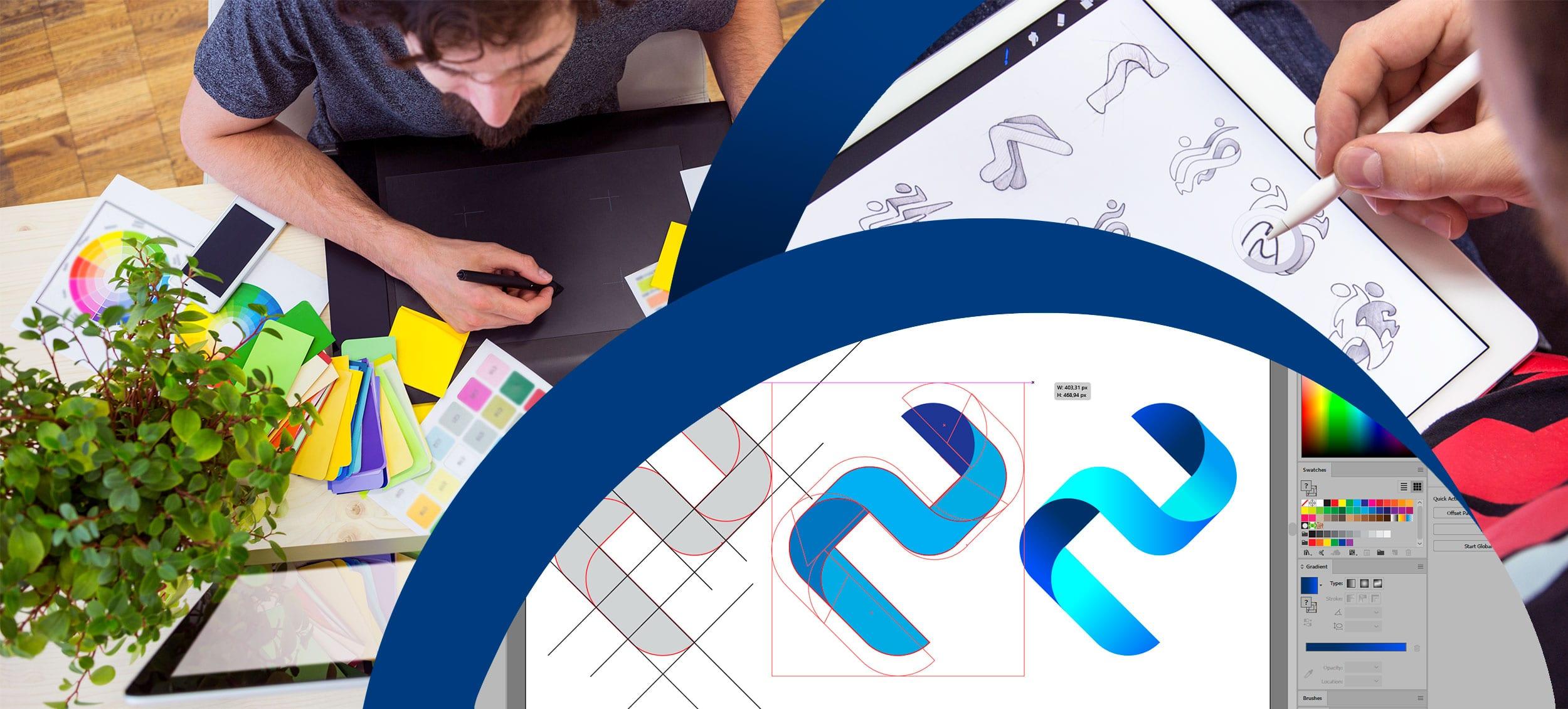 Creatikon Studio este o firmă de logo design din Brașov, cu o vechime de 13 ani, specializată în logo design - creare siglă vectorială, emblemă firmă.