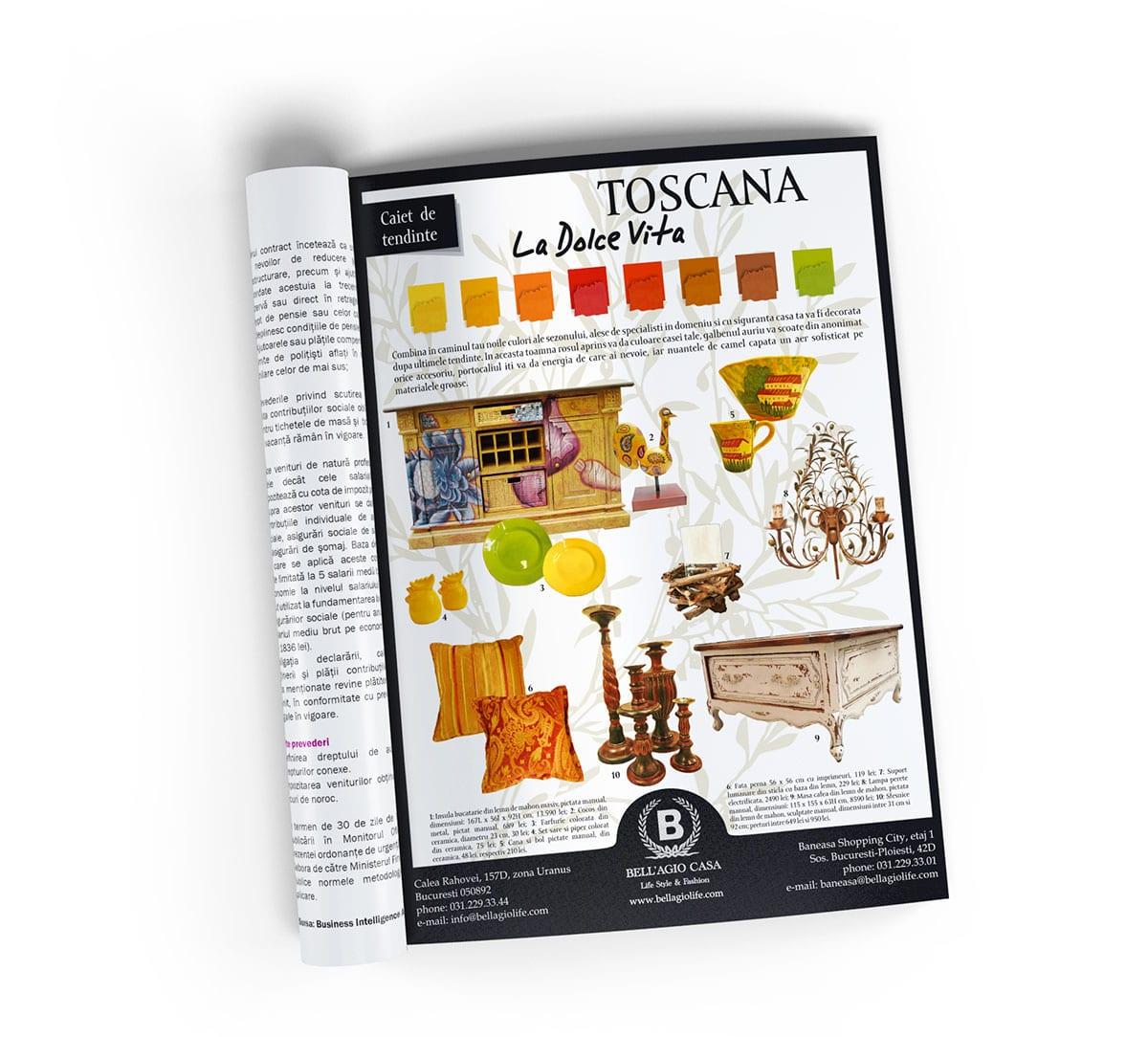 Realizăm design și machetare print – DTP pentru Machete de Reclamă pentru Reviste și Presă!
