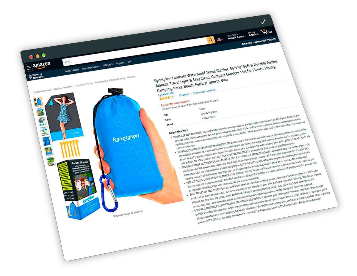 Apelează la serviciile noastre pentru ca produsul tău să iasă în evidență pe paginile Amazon, prin grafică și imagini uimitoare, care vor prezenta cele mai bune caracteristici ale produsului tău!